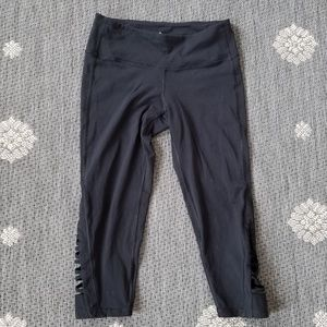Athleta capri criss cross workout leggings